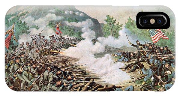 Allison iPhone Case - Battle Of Kenesaw Mountain Georgia 27th June 1864 by American School