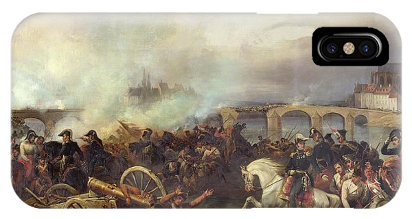 Battle Of Montereau IPhone Case