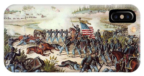 Allison iPhone Case - Battle Of Olustee, 1864 by Granger