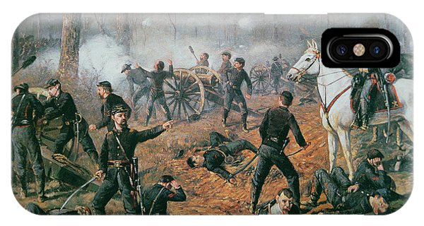 1862 iPhone Case - Battle Of Shiloh by T C Lindsay