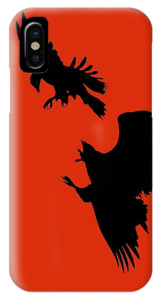 Battle Of The Eagles IPhone Case