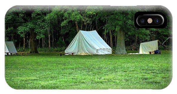 Battlefield Camp IPhone Case