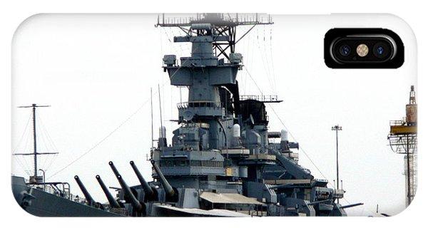 Battleship New Jersey IPhone Case