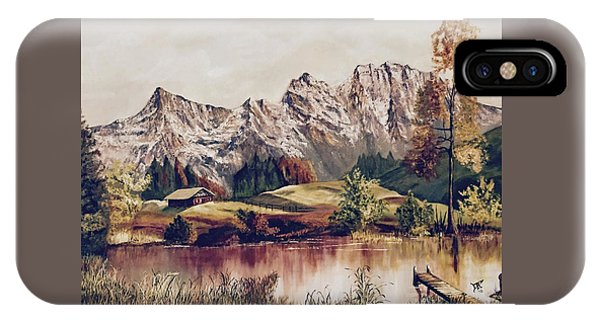 Bavarian Landscape IPhone Case