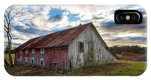 Bay Avenue Barn IPhone Case