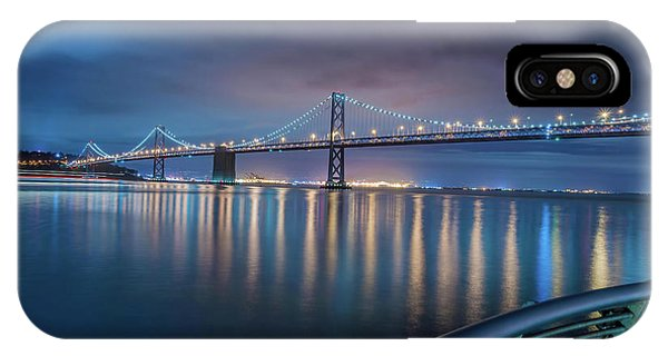 Bay Bridge Blues IPhone Case