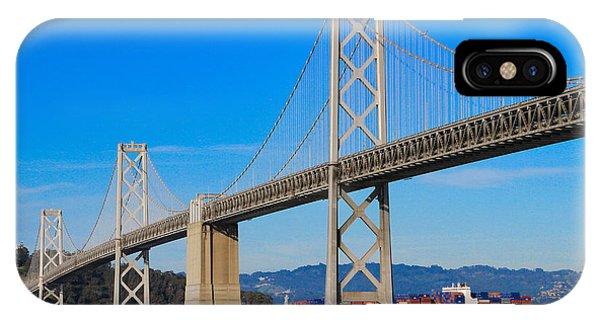 Bay Bridge With Apl Houston IPhone Case