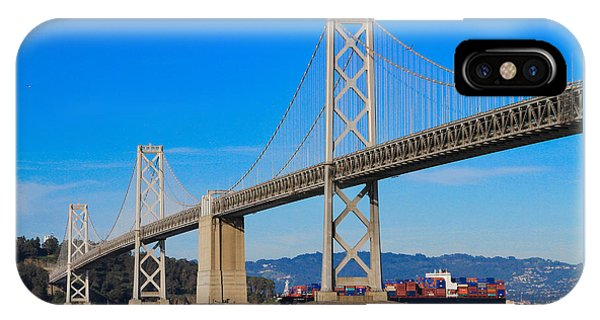 Bay Bridge With Apl Houston IPhone Case