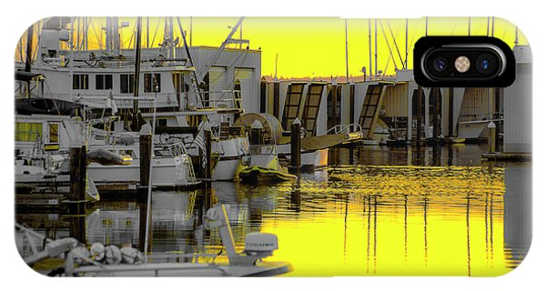 Bay In Yellow IPhone Case