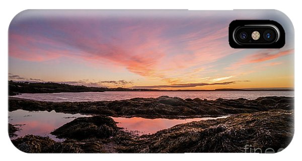 Tidal iPhone Case - Bay Of Fundy by DiFigiano Photography