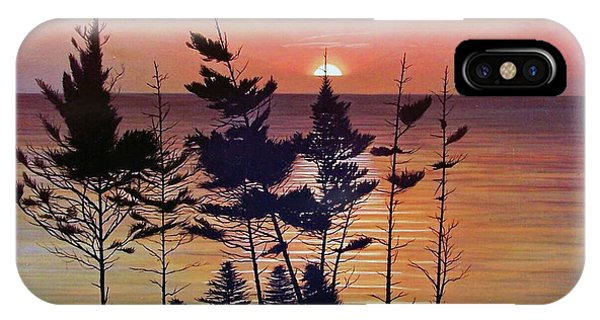 Bay Of Fundy Sunset IPhone Case