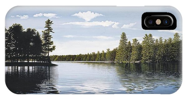Bay On Lake Muskoka IPhone Case