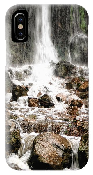 IPhone Case featuring the photograph Bayfront Park Waterfall by Lars Lentz