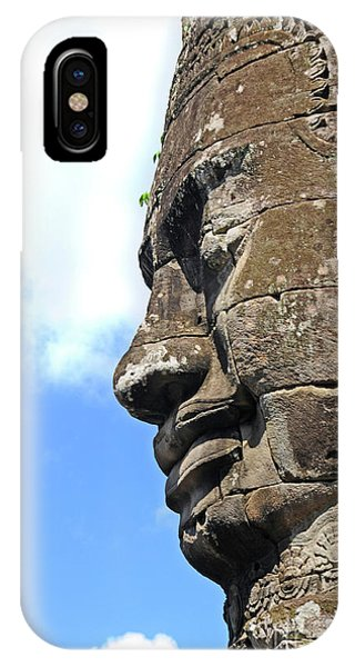 Bayon Face IPhone Case