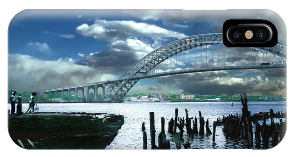 Bayonne Bridge IPhone Case
