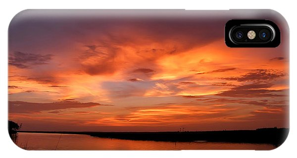 Bayou Sunset IPhone Case