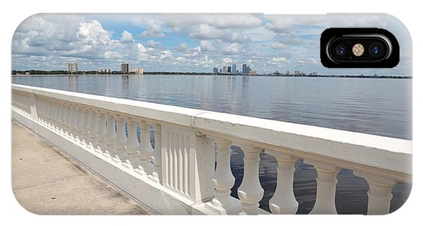 Bayshore Boulevard Balustrade IPhone Case