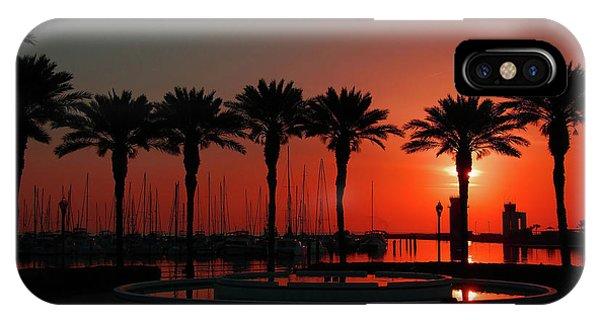 Bayshore Drive Harborwalk IPhone Case