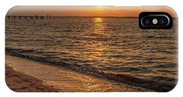 Bayside Sunset IPhone Case