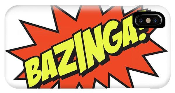 Bazinga  IPhone Case
