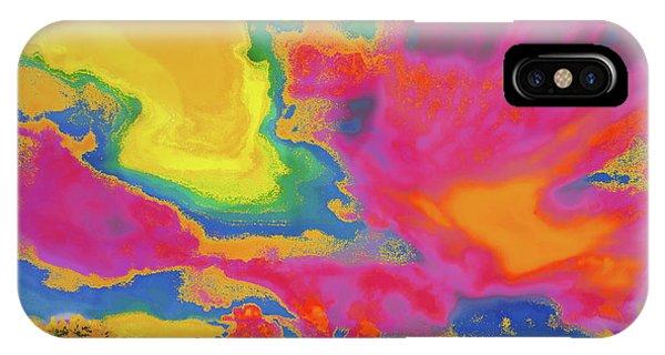 Treeline iPhone Case - Bazzaro  Sky by Expressionistart studio Priscilla Batzell