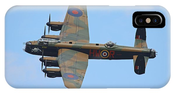 Bbmf Lancaster Bomber IPhone Case