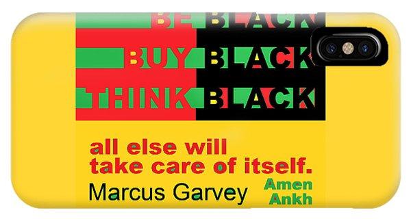 Be Black Rbg IPhone Case