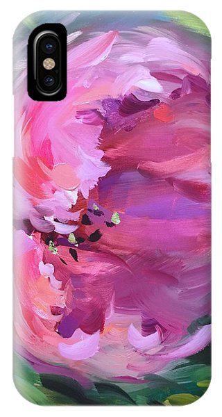 iPhone Case - Be Free Pink Tulip by Nancy Medina