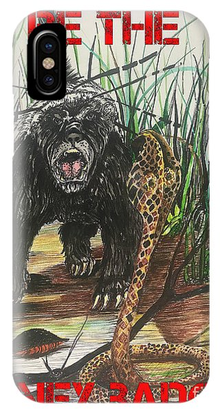 Be The Honey Badger IPhone Case