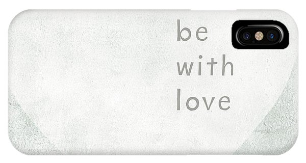 Hearts iPhone Case - Be With Love - Art By Linda Woods by Linda Woods