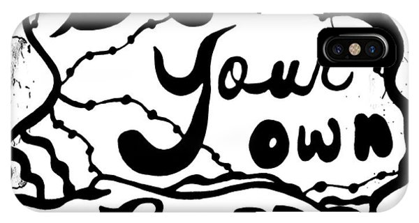 Be Your Own Buzz IPhone Case