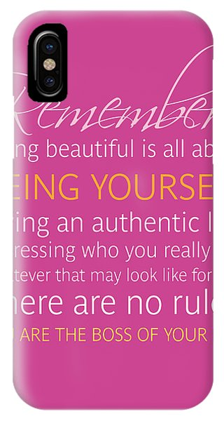 iPhone Case - Be Yourself by Luzia Light