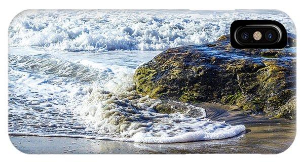 Wave Around A Rock IPhone Case