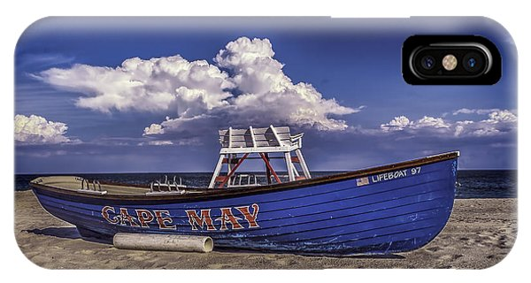 Beach And Lifeboat IPhone Case