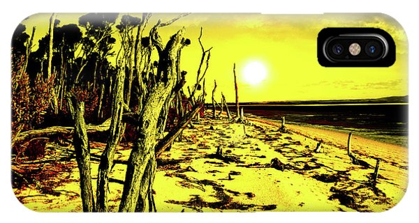 Wilsons Promontory iPhone Case - Beach Apocalypse by Russell Alexander
