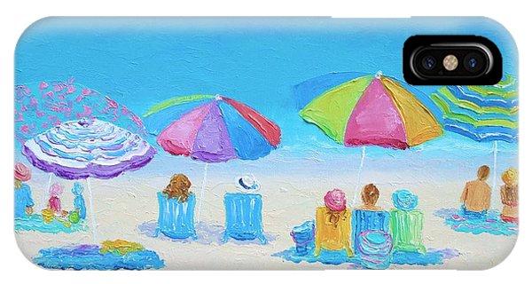 Beach Art - A Golden Day IPhone Case