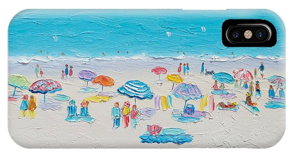 Beach Art - Fun In The Sun IPhone Case