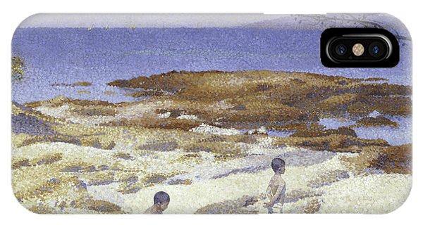 Beach At Cabasson IPhone Case