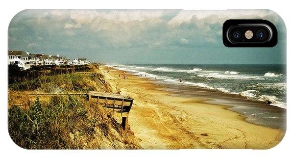 Beach At Corolla IPhone Case