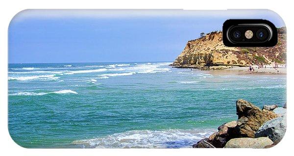 Beach At Del Mar, California IPhone Case