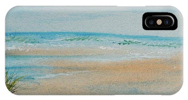 Beach At High Tide IPhone Case