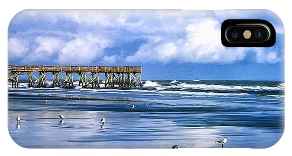 Beach At Isle Of Palms IPhone Case