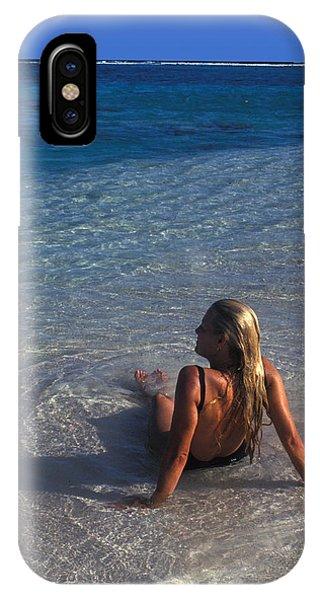 Beach At Little Cayman IPhone Case