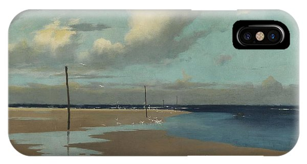 Beach At Low Tide IPhone Case