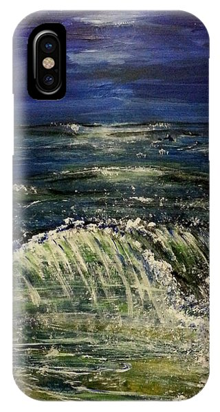 Beach At Night IPhone Case