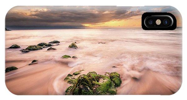 Beach At Paia IPhone Case