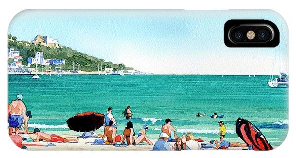 Beach At Roses, Spain IPhone Case
