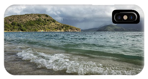 Beach At St. Kitts IPhone Case
