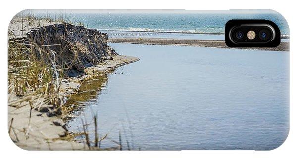 Beach At Warren Dunes IPhone Case