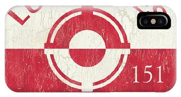 Beach Badge Loveladies IPhone Case